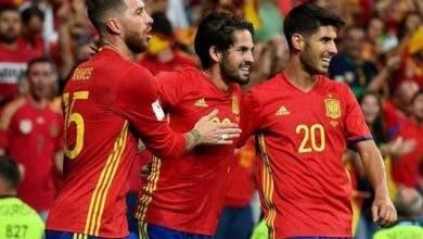 اسبانيا تفوز على ليتوانيا بالفريق الاحتياطى قبل موقعه يورو