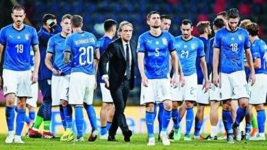 ايطاليا تتالق وتفوز علي سويسرا بثلاثيه فى يورو ٢٠٢٠