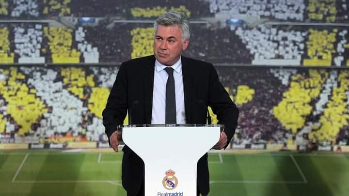 عاجل.. عودة كارلو انشيلوتي لتدريب لريال مدريد
