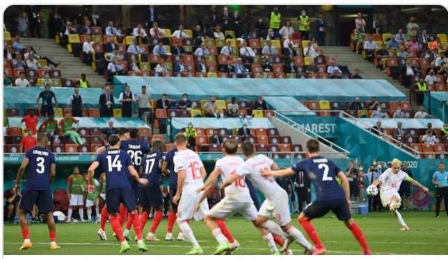 عكس التوقعات المنتخب السويسري يطيح بنظيره الفرنسي ويتأهل لربع نهائي يورو 2020
