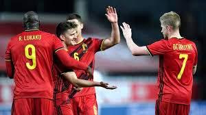بصناعة و هدف دي بروين.. فوز بلجيكا على الدنمارك بثنائية
