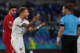 سهرة للاتزوري في مباراة الأتراك .. ايطاليا تدك تركيا بالثلاثة