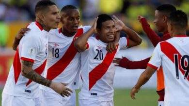 بيرو تحقق انتصار غالي ومفاجئ علي حساب كولومبيا في كوبا أمريكا