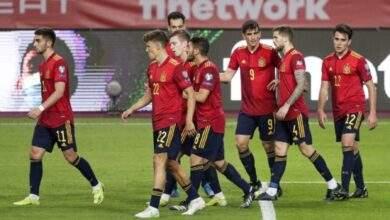 منتخب إسبانيا يعلن نتائج فحوصات فيروس كورونا