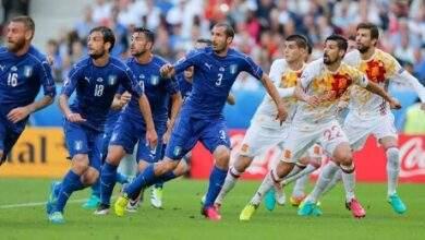 إيطاليا واسبانيا صراع من أجل نهائي يورو 2020
