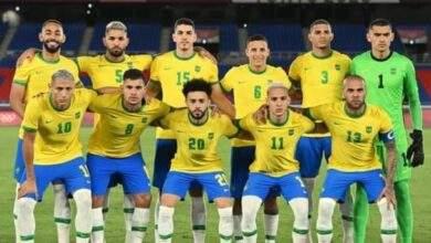 تشكيل منتخب البرازيل لمواجهة منتخب مصر الاولمبي فى اولمبياد طوكيو