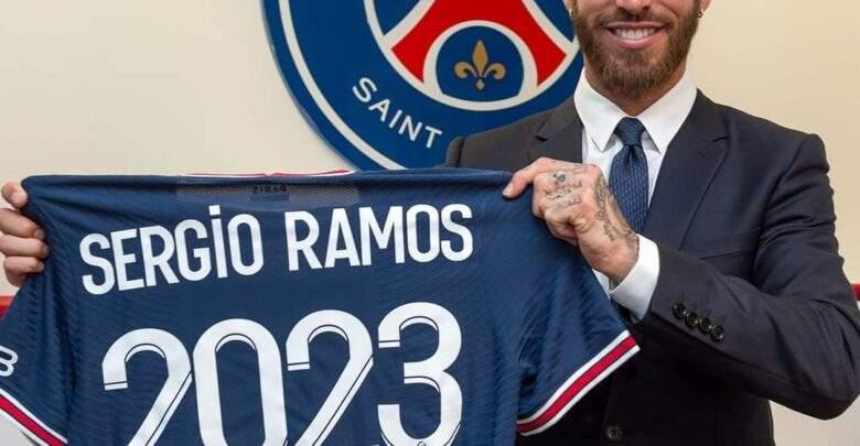 رسميا.. سيرجو راموس في باريس سان جيرمان