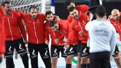 منتخب مصر لليد ضد البرتغال فى أولمبياد طوكيو 2021