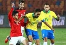 البرازيل تهزم منتخب مصر الاولمبي وتصعد إلى نصف النهائي