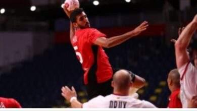 منتخب مصر لكرة اليد يواجه فرنسا قبل نهائي اولمبياد طوكيو