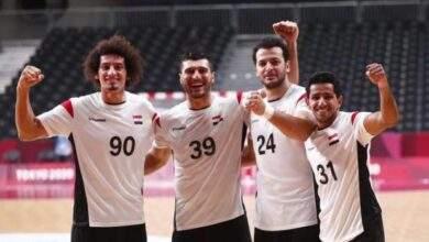 منتخب مصر يقهر منتخب المانيا ويتأهل لنصف نهائى الأولمبياد 2020